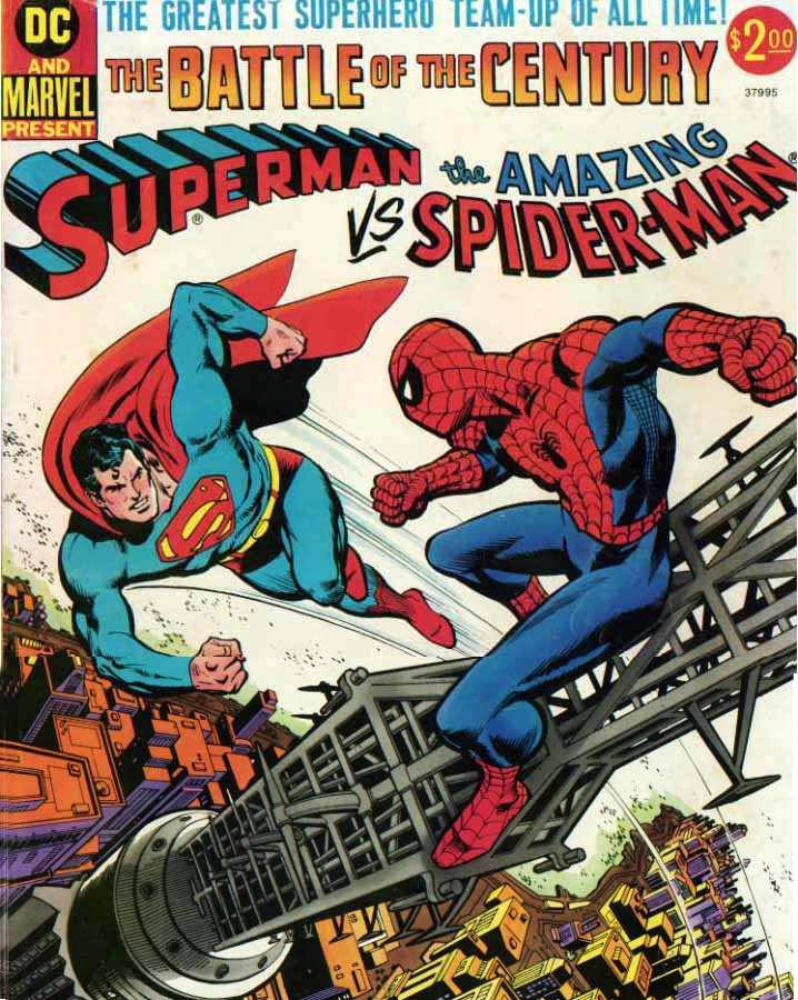 Superman Vs The Amazing Spider Man Comics