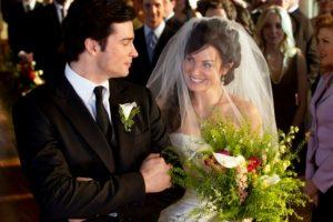 Clark and Lois Wedding