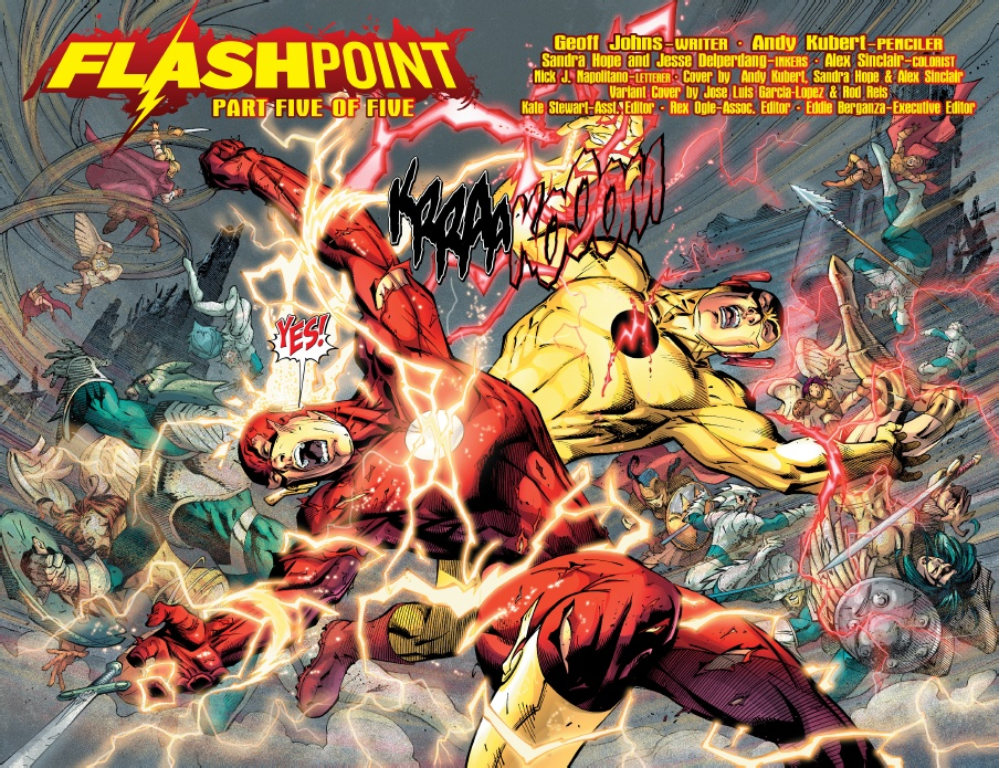 Image result for flashpoint comic