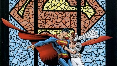 Superman wedding