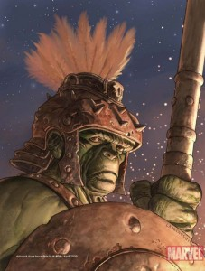 Planet Hulk Comic
