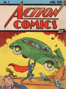 Action Comics #1 First Superman (June 1938)