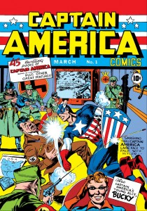 Captain America #1 Origin Story Published March 1941
