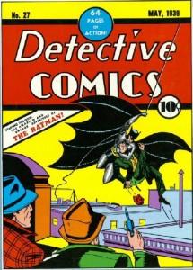 Detective Comics 27 First Batman (May 1939)