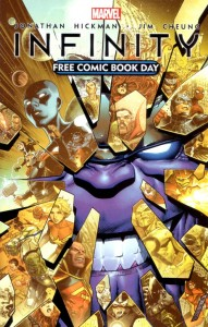 Infinity Free Comic Book Day May 4,2013