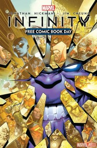 FCBD: Infinity cover by Jim Cheung