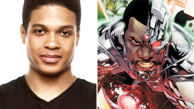 Ray Fisher to Play Cyborg