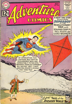 Adventure Comics #296 (May 1962), cover art by Swan, inks by George Klein