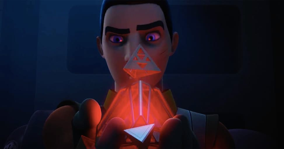 Ezra and the Sith Holocron – Steps Into Shadow Preview | Star Wars Rebels