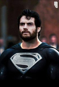 Superman in Black