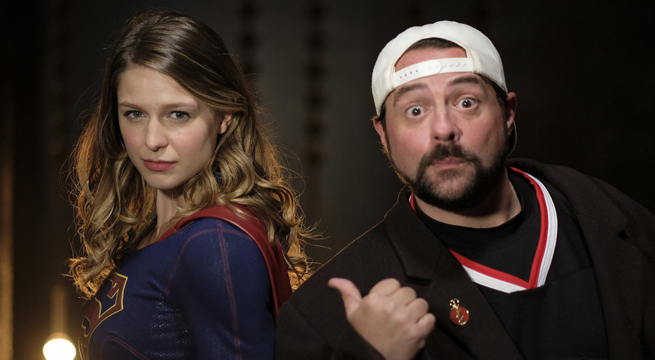"""Kevin Smith Directs """"Supergirl Lives"""""""