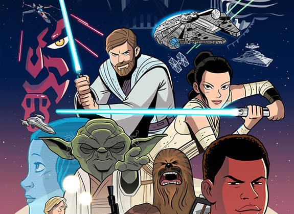 STAR WARS All-Ages Comic Books Coming From IDW