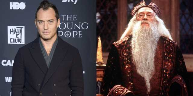 Sequel Casts Jude Law As The Young Albus Dumbledore
