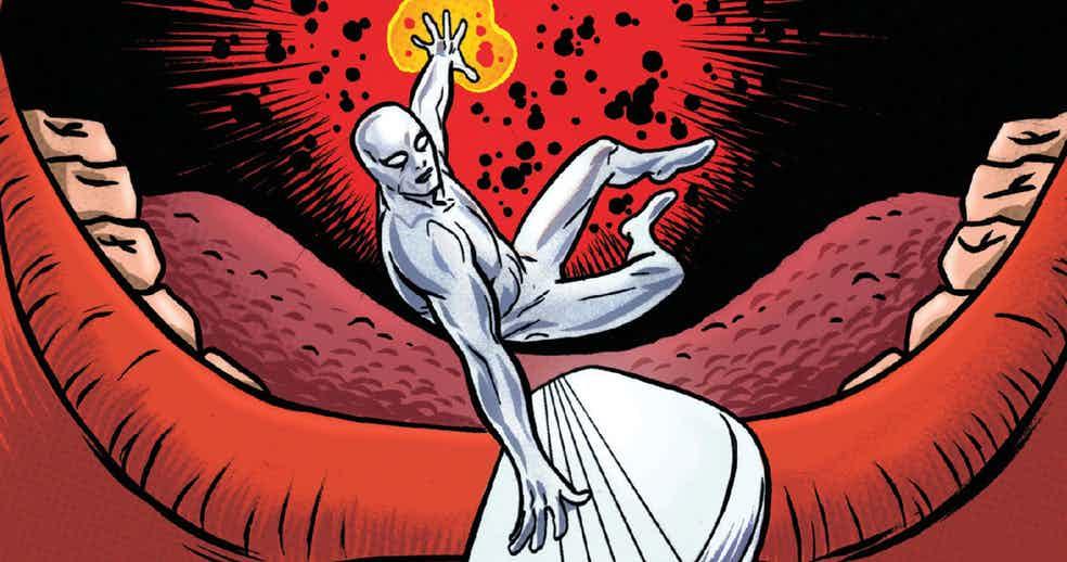 Slott's Silver Surfer Rides a Cosmic Adventure