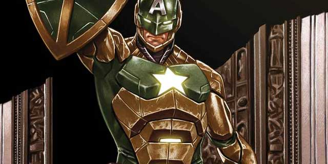 Captain America Becomes Captain Hydra Secret Empire #10