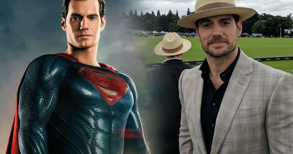 Henry Cavill Not Allowed to Shave for Justice League Re-shoots
