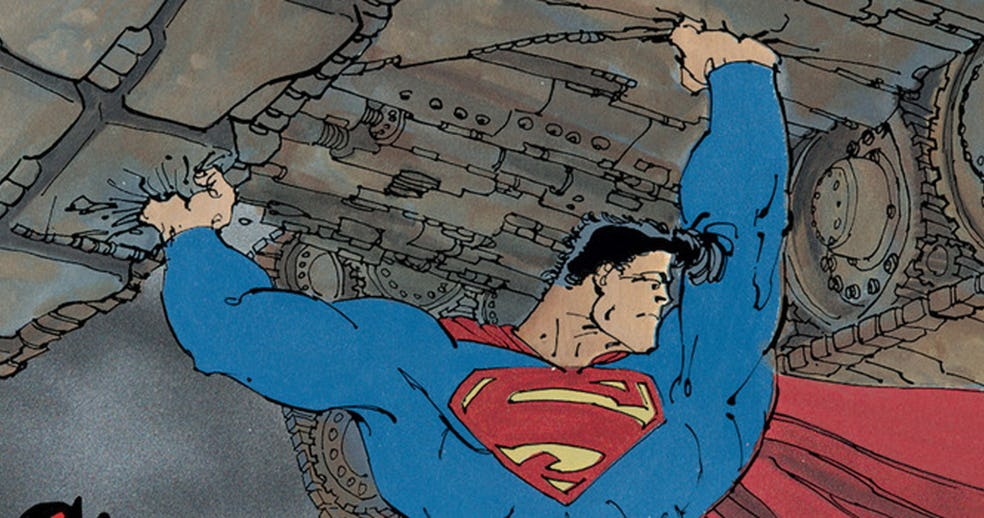 Frank Miller Announces Superman Year One