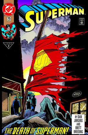 Superman 75 the death of Superman