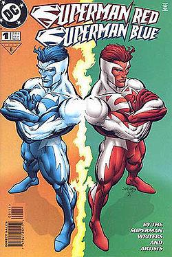Superman RedSuperman Blue